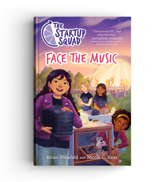 Face The Music 3D Book Cover